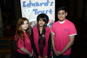 Young Ambassadors Kelly, Prab and Jaideep