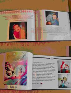Dane's memory book
